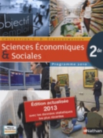 SCIENCES ECONOMIQUES & SOCIALES GRAND FORMAT 2013